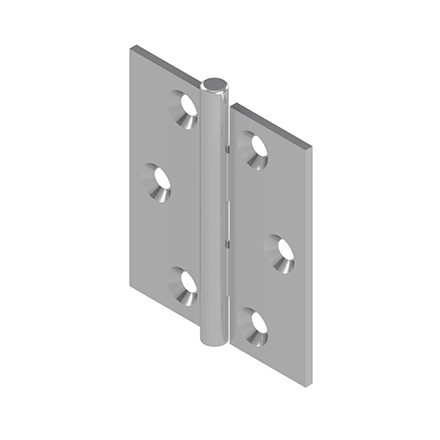 492501-492510 Hinges with Fixed Pin